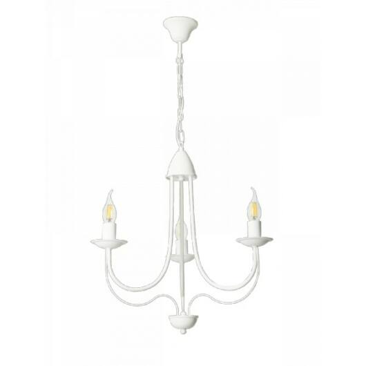 LAMPEX Csillár Candle 3 fehér