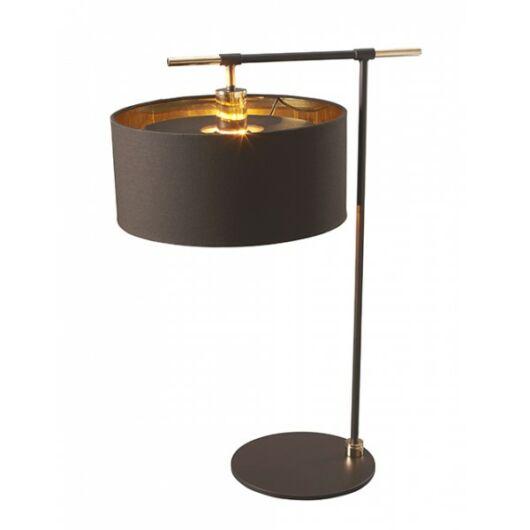 Elstead Balance csiszolt sárgaréz/barna asztali lámpa hangulat lámpa
