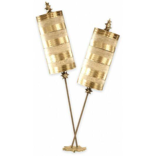 ELSTEAD Nettle Luxe arany asztali lámpa komód lámpa