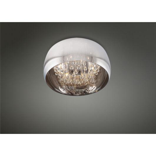 MOONLIGHT Mennyezeti lámpa króm