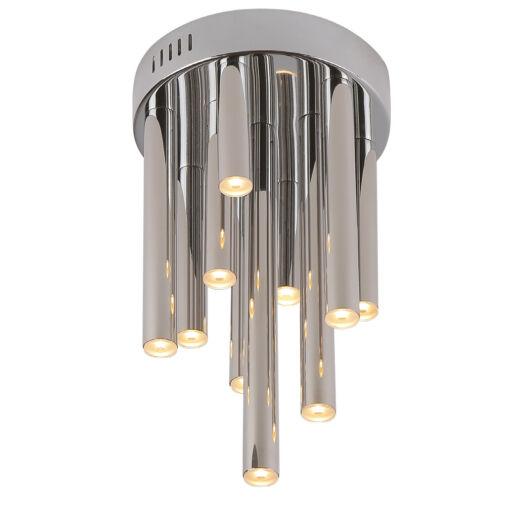 ORGANIC Mennyezeti lámpa króm 10x1W