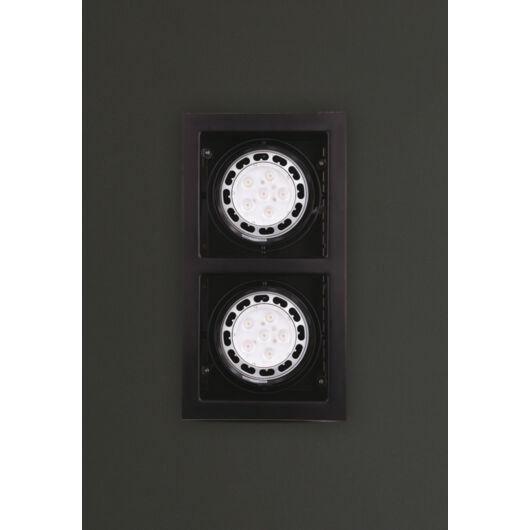 MATRIX II Beépíthető lámpa fekete