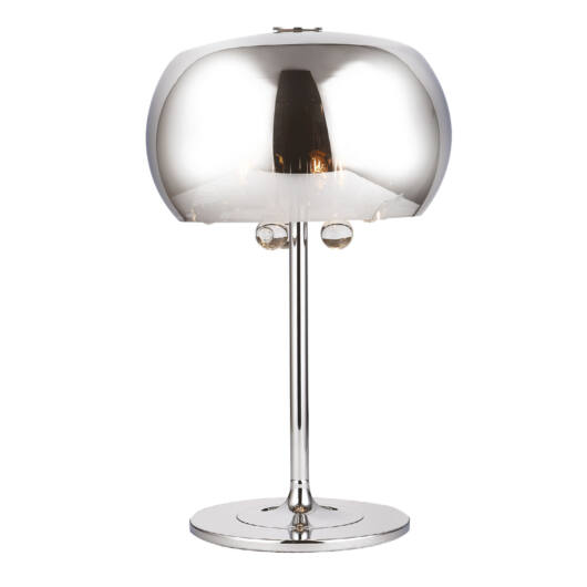 MOONLIGHT Asztali lámpa króm