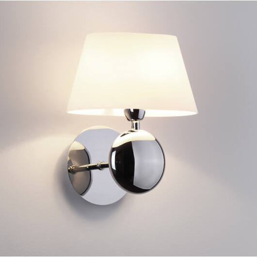 NAPOLEON Fali lámpa króm