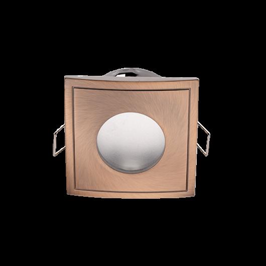 Beépíthető spot lámpatest  IP44 réz