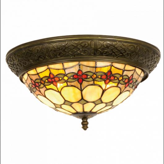 Filamentled Sunderland Tiffany mennyezeti lámpa