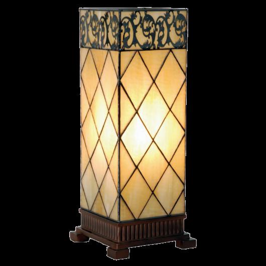 Filamentled Colchester L S Tiffany asztali lámpa