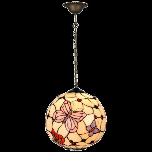 Filamentled Leeds Globe Tiffany függeszték