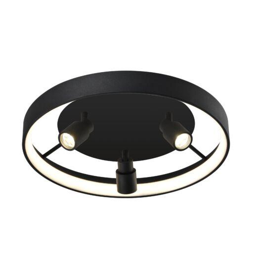 DENIS LED mennyezeti lámpa 30W fekete