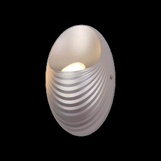 SHELL LED fali lámpa ezüst