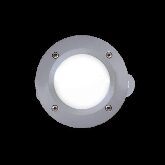 LETI 100 LED kültéri süllyesztett fali lámpa 3W szürke