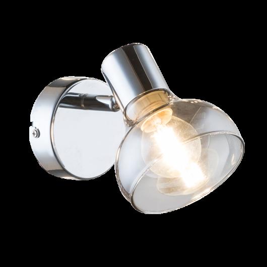 Addy Chrome Fali lámpa 1xE14
