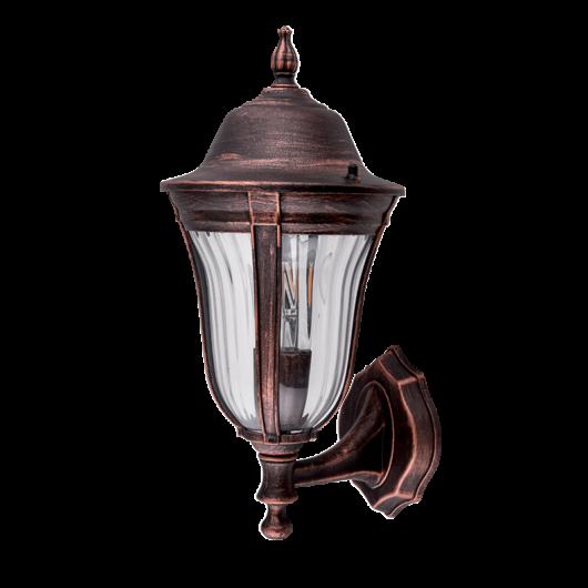 MARK 201 kültéri fali lámpa 1XE27 antik réz