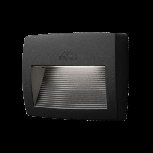 LORENZA 150 LED kültéri fali lámpa 7.5W fekete