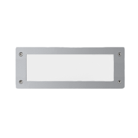 LETI 300GL süllyesztett fali lámpa 1XE27 IP66 szürke