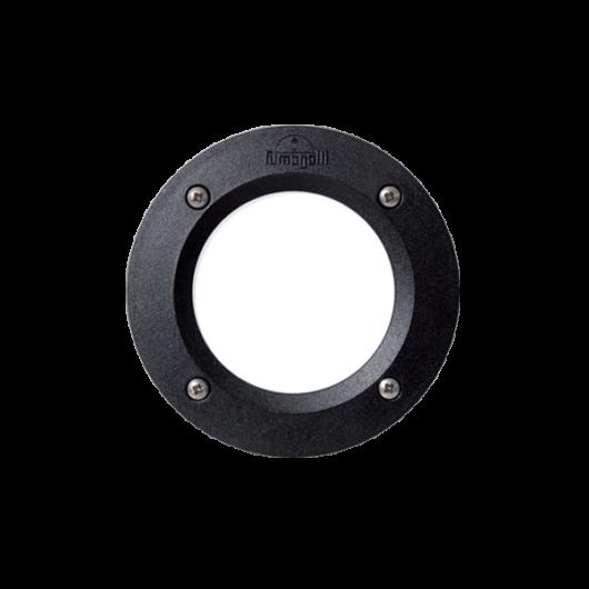 LETI 100 LED kültéri süllyesztett fali lámpa 3W fekete