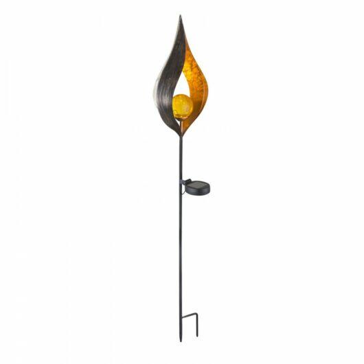 GLOBO szolár leszúrható lámpa bronz 90cm