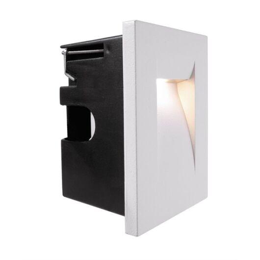 Kültéri beépíthető fali lámpa Yvette II W fehér