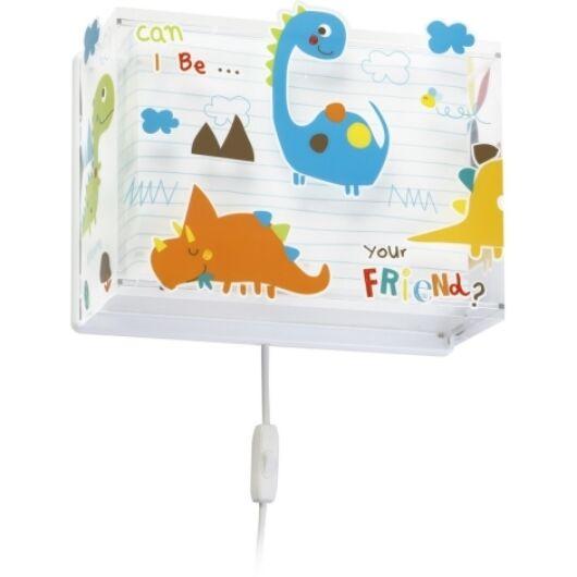 Dalber gyereklámpa - 'dinos' fali lámpa