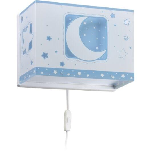 Dalber gyereklámpa - 'moonlight' kék fali lámpa