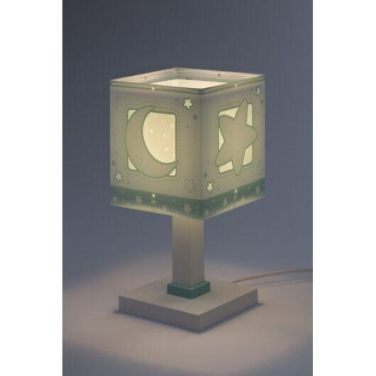 Dalber gyereklámpa - 'moonlight' zöld asztali lámpa