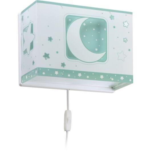 Dalber gyereklámpa - 'moonlight' zöld fali lámpa