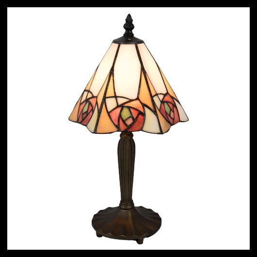 Filamentled Rose Tiffany asztali lámpa