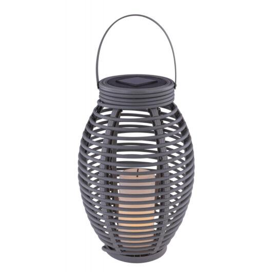 GLOBO szolár asztali lámpa szürke