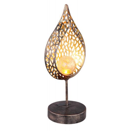 GLOBO szolár lámpa arany