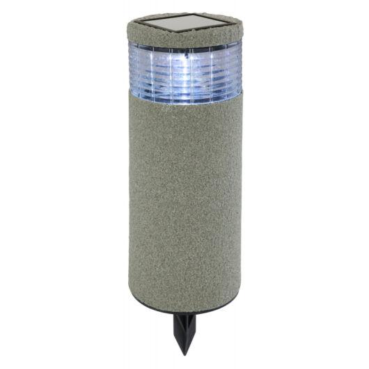 GLOBO leszúrható lámpa kőhatású műanyag