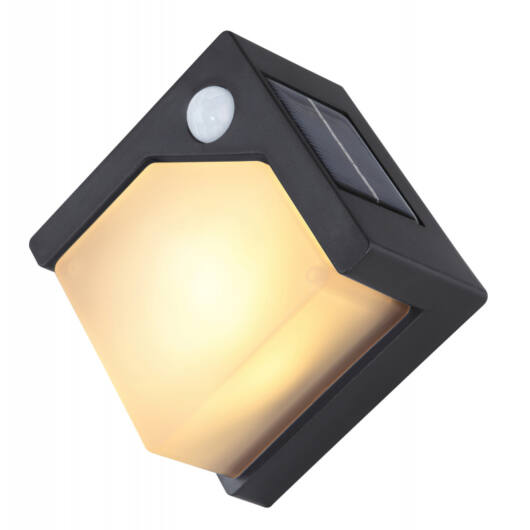 GLOBO solar fali lámpa mozgásérzékelővel