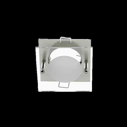 SA-712  beépíthető spot lámpatest sülly. üveg előtéttel nikkel