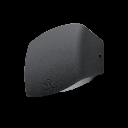 ABRAM 190 LED kültéri fali lámpa 7.5W fekete