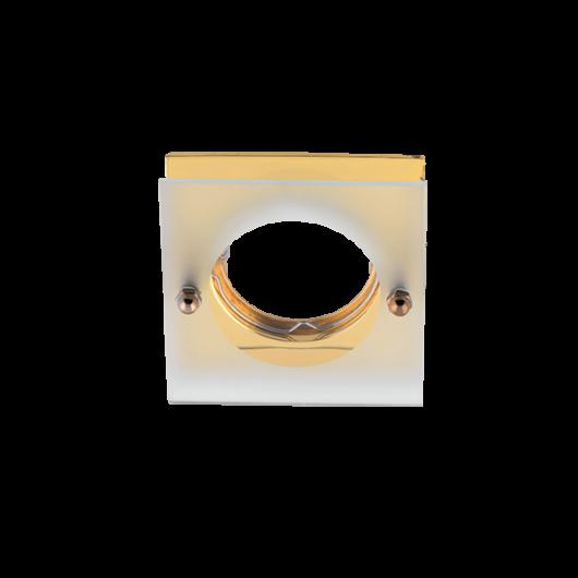 SA-712H  beépíthető spot lámpatest sülly. üveg előtéttel arany