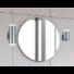 Kép 2/2 - RAY fürdőszobai fali lámpa króm