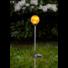 Kép 2/2 - Roma kerti szolár lámpa borostyán