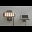 Kép 2/2 - Szolár kerti spot lámpa szürke