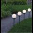 Kép 2/2 - GLOBUS kerti szolár lámpa szett