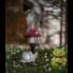 Kép 2/2 - Kerti szolár lámpa gomba
